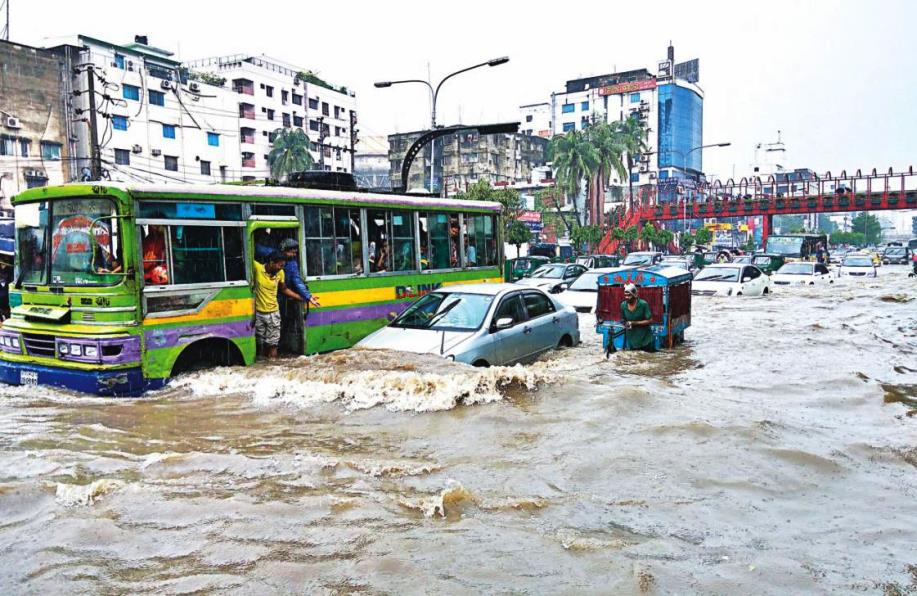 Dhaka after rain